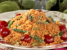 Tomato Couscous Salad recipe from Semi-Homemade Cooking via Food Network