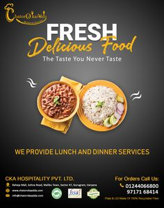 Chatorokaadda is best restaurants for Lunch, Dinner, Tiffin Services in Gurgaon. Order special tiffin Lunch Box Near Raheja Mall, Spaze Itech Park Gurgaon. Food Graphic Design, Food Menu Design, Food Poster Design, Ad Design, Restaurant Flyer, Restaurant Menu Design, Restaurant Recipes, Tiffin Service, Indian Catering