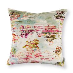 """""""Pleasure Gardens"""" cushion.  Desire collection by Jessica Zoob for Black Edition."""