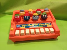 Christmas Big Mouth Singers - Generation X 70s Toys, Retro Toys, Vintage Toys, Vintage Stuff, My Childhood Memories, Childhood Toys, Great Memories, School Memories, Old School Toys