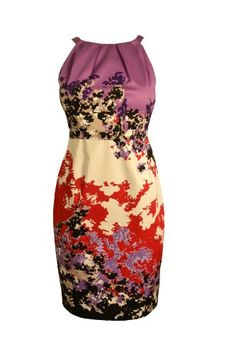 Elie Tahari Womens Dresses Malia Floral Print Empire Design Dress 6 Retail $328.00 « Clothing Impulse
