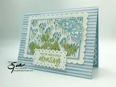 Youre A Peach, You're Awesome, Amazing, Color Contour, Bird Cards, Flower Cards, Stampin Up Cards, Free Gifts, Paper Crafts