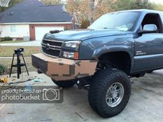 My custom Bumper build - Diesel Place : Chevrolet and GMC Diesel Truck Forums Custom Truck Bumpers, Custom Trucks, Gmc Diesel, Diesel Trucks, Off Road Bumpers, Toyota Tacoma, Offroad, 4x4, Chevrolet