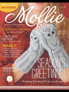 Mollie Makes issue out now! - Mollie Makes Mollie Makes, Knitting Magazine, Crochet Magazine, Knitting Patterns Free, Crochet Patterns, Knitting Ideas, Knitting Books, Knitting Tutorials, Crochet Books