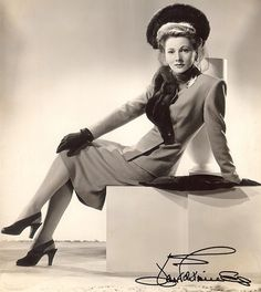Joan Fontaine (b. Oct. 22, 1917)