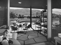 Ball-Arnaz Residence - Thunderbird Country Club, Rancho Mirage, CA - Paul Revere Williams, Architect. Photo by Julius Shulman