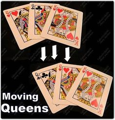 Moving #queen 3 card #trick 1 king 2 gimmick #queens gaff magic the grail #acaan w, View more on the LINK: http://www.zeppy.io/product/gb/2/330791623167/