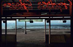 harry gruyaert photographe belge coloriste pergola plage