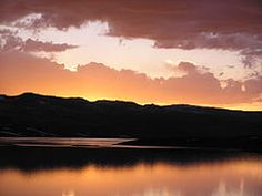 ~ Strawberry Reservoir Sunset ~