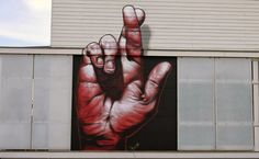 French street artist MTO is known for his greyscaled, photorealistic works of art. Between 2006 and 2013 he lived in Berlin however his current location is unknown. You can see much more of this amazing murals at Flickr.