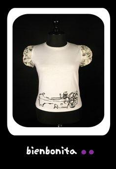 camiseta chica. $45, 71