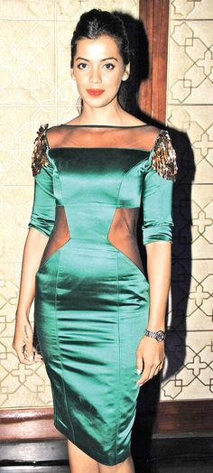 Mugdha Godse at an event held by Harman Kardon. #Style #Bollywood #Fashion #Beauty
