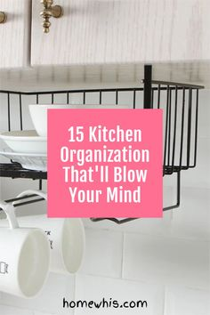 Looking to finally declutter your pantry and get them in perfect order? Here are 15 Kitchenorganization ideas that'll inspire your next pantry makeover. In this post, i'll show you ways to use organizers to increase storage space without adding shelves or installing anything. Plus, hacks to keep your pantry organized for the long term These tips are perfect for small pantry organization and kitchen cabinets too! #homewhis #pantryorganization #pantry #declutter #kitchenorganization Small Pantry Organization, Organization Hacks, Sink Organizer, Organizers, Kitchen Cabinets And Flooring, Pantry Makeover, Declutter, Storage Spaces, Sweet Home