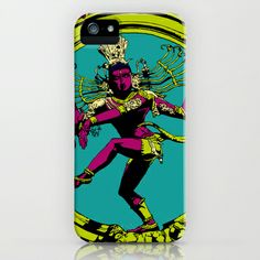 Natraj Dance iPhone & iPod Case by Vee Ladwa - $35.00
