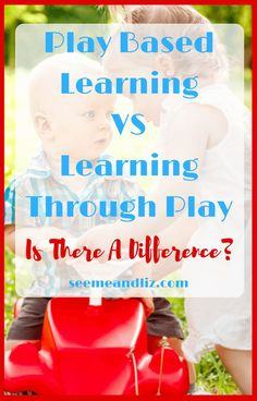 Play based learning and learning through play are terms that are used interchangeably, but do they mean the same thing? Find out what these terms actually mean and how play fits into a child's development!