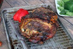 Pork Shoulder Picnic Roast Recipe [Crispy Skin & Slow Roasted] Pork Shoulder Picnic Roast, Slow Roasted Pork Shoulder, Pork Shoulder Recipes, Smoked Pork Picnic Shoulder Recipe, Roast Recipes, Keto Recipes, Cooking Recipes, Dinner Recipes, Cooking Ham