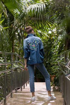 DENIM JACKET    fashion, style, streetstyle, lifestyle  