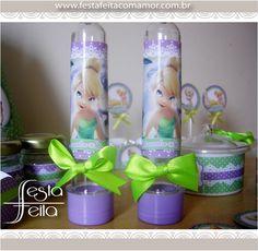 tubetes personalizadoswww.festafeitacomamor.com.br  Paper goodies Papelaria para Festa da Tinkerbell (sininho) | Festa Feita! Papelaria personalizada para festas! Com Amor para você!
