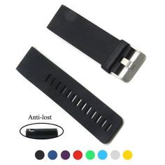 For Fitbit Blaze Activity Tracker, Cute Replacement Accessory Rubber Wrist Band Strap/ Watchband Style Wristband Bracelet with Gunmetal Watch Buckle Clasp, Anti-lost Quick Release Pins - Large >>> Continue to the product at the image link.