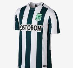 Nova primeira camisa do Atlético Nacional.  Nike 2015