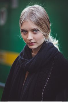 Nastya Kusakina by Jean Baptiste Soulliat Stephane Rolland - Paris Fashion Week HC SS16