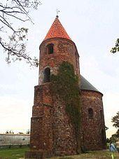 Architektura romańska w Polsce -rotunda sw.Prokopa-Strzelno