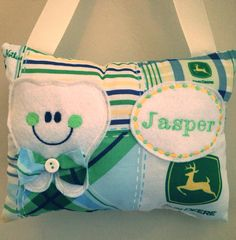 Tooth fairy pillow on Etsy, $10.00