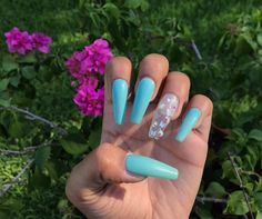 Acrylic Nails Glitter Ombre, Bright Acrylic Nails, Coffin Nails Ombre, Diy Acrylic Nails, Acrylic Nails Coffin Short, Cute Acrylic Nail Designs, Metallic Nails, Smoked Sausages, Ten Nails
