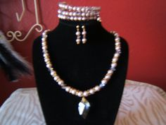 Colorado Pearls and Crystals Set by BJDevine on Etsy
