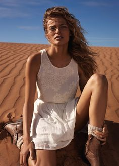 Edita Vilkeviciute Has a Stylish Summer for Mango's New Catalogue | Fashion Gone Rogue: The Latest in Editorials and Campaigns