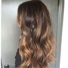 """Hello beautiful brunette!  Color by @colorbymeaghan  #hair #hairtalk #brunette #highlights #beachyhair #hairenvy #goodhairdays #jonathanandgeorge"""