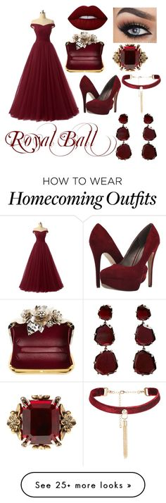 """To a Royal Ball"" by dhanveeganatra on Polyvore featuring Michael Antonio, Jimmy Choo, Alexander McQueen, Annoushka and Lime Crime"