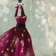 Fuschia Dress I by Aimee Wilson.
