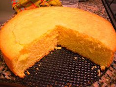 Recetario Veganas: Biscochuelo de naranja
