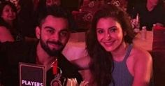 Anushka Sharma and Virat Kohli have slowly but surely become more and more public about their relationship and we're totally loving it. We spotted the lovebirds heading to Bangalore together. Virat and Anushka were partying in the city to celebrate Royal Challengers Bangalore's 10 year anniversary. Check out this cute click of them posing with pals. Oh Virushka you never fail to ambush us with #CoupleGoals!