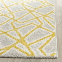 Safavieh Porcello Contemporary Light / Lime Rug