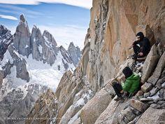 Climbing Patagonia- Poincenot, Argentina