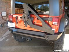 Expedition One Trail Series rear bumper & tire carrier install. - JKowners.com : Jeep Wrangler JK Forum