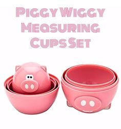 If there is that one pink thing that is so much loved, nothing beats a pink pig! Check it out ==> http://gwyl.io/piggy-wiggy-measuring-cups-set/