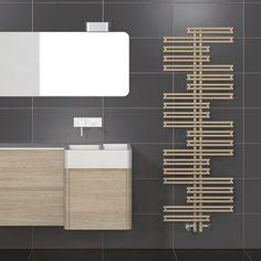 Hot water radiator / vertical / original design KASAI  Vogel und Noot