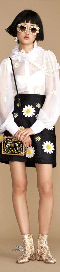 Dolce & Gabbana SS2016 Cruise Women's Fashion RTW | Purely Inspiration