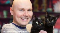 Billy Corgan Is on the Cover of a Magazine for Cat Enthusiasts