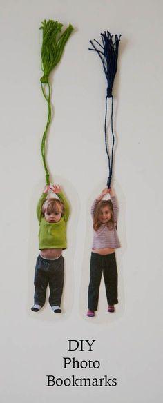 DIY photo bookmark c