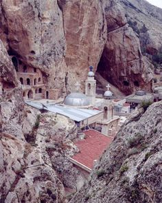 Malola; a village in the mountains of Syria. It is the only and last place where people speak Aramaic; the language of Christ and the mother language of both Arabic and Hebrew.