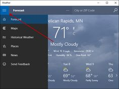 Windows 10 includes a plethora of built-in Universal applications to get you up and running right away. Hamburger Menu, Hp Android, Weather Forecast, Up And Running, Windows 10, App, Ground Zeroes, Script, Patches