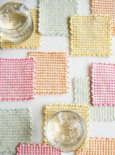 Pin Loom Coasters: A boy can make these with mum as a child and use them in his own first apt to rest his beer on in his 20s.