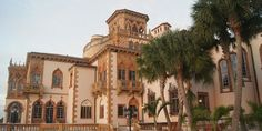 The Ringling Museum Ca d'Zan Mansion just one of the many things you Must Do when visiting Sarasota, Florida.