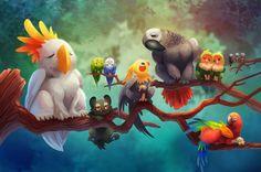 ilustración de Tsao Shin