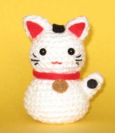 Onni Maneki neko amigurumi pattern
