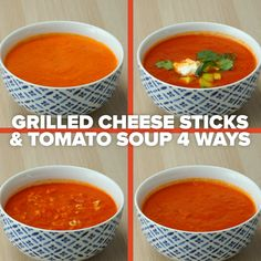 Curl up in a warm blanket, it's comfort food season and we've got Grilled Cheese Sticks and Tomato Soup coming your way different ways). Great Recipes, Dinner Recipes, Favorite Recipes, Grilled Cheese Sticks, How To Cook Meatballs, Tomato Soup Recipes, Recipe Details, Winter Food, How To Cook Pasta